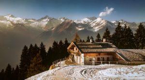 Maison dans les Alpes